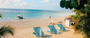 Lounge Chairs on Beach at Skylark