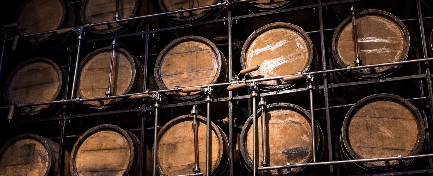 barrels on an appleton estate rum tour